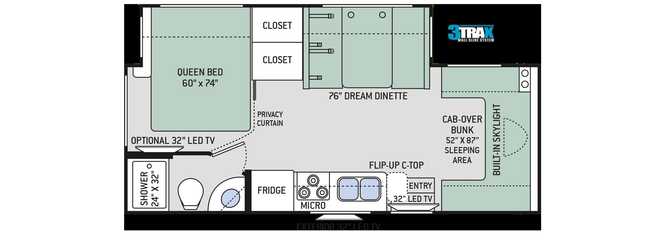 Floor plans quantum km24 for Floor plan plus