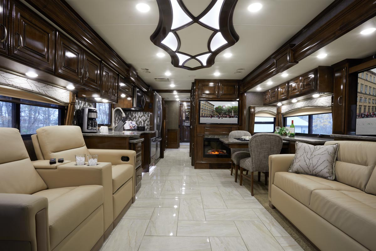 Thor Motor Coach Reveals Exciting Floor Plans In