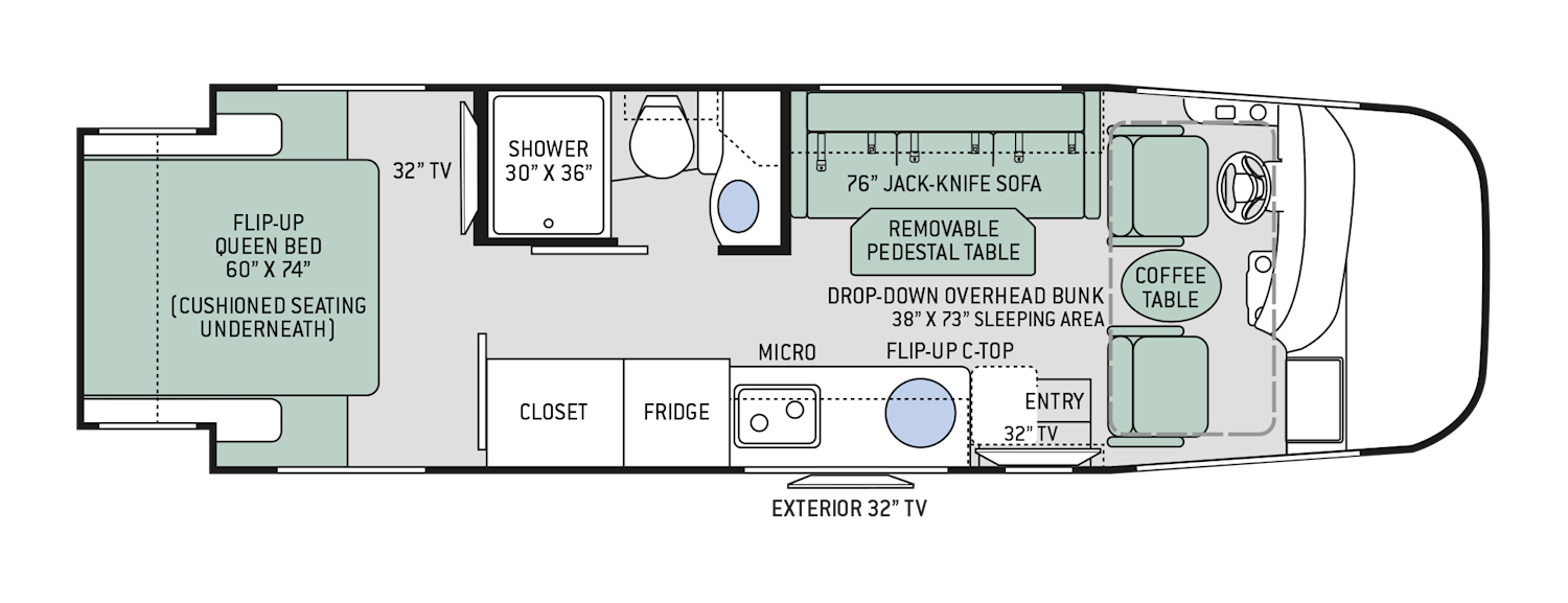 Thor Class A Rv Floor Plans