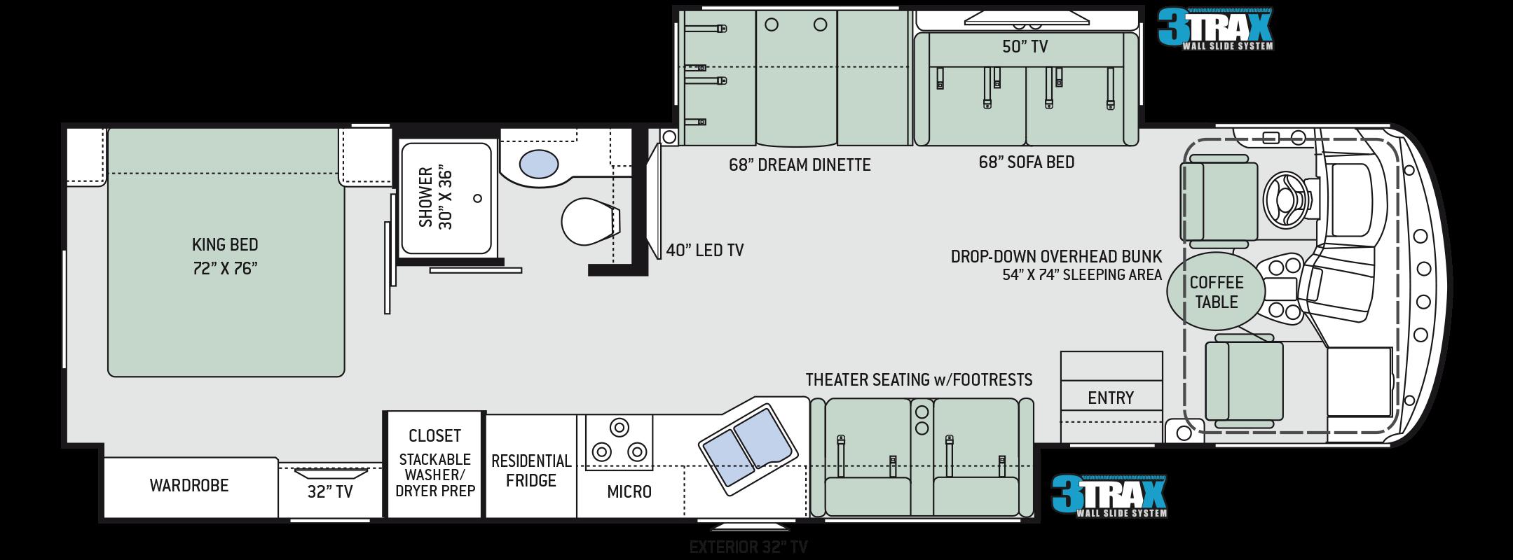 Floor Plans Windsport 34r