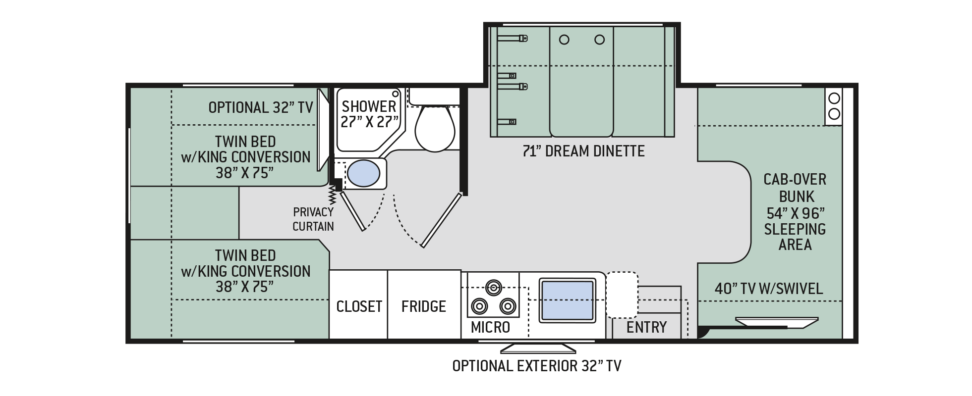 Floor Plans Four Winds 25v
