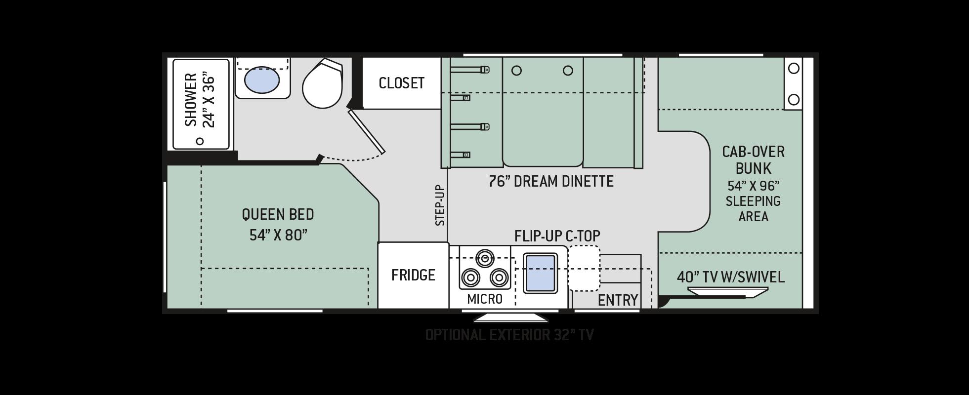 Floor Plans Four Winds 22e