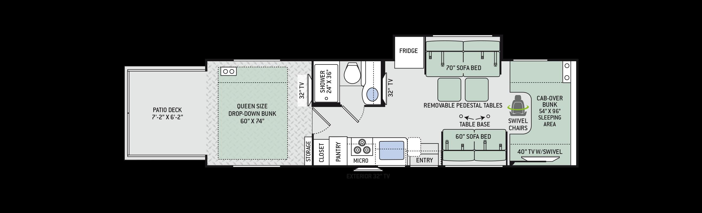 Floor Plans Outlaw Class C 29j
