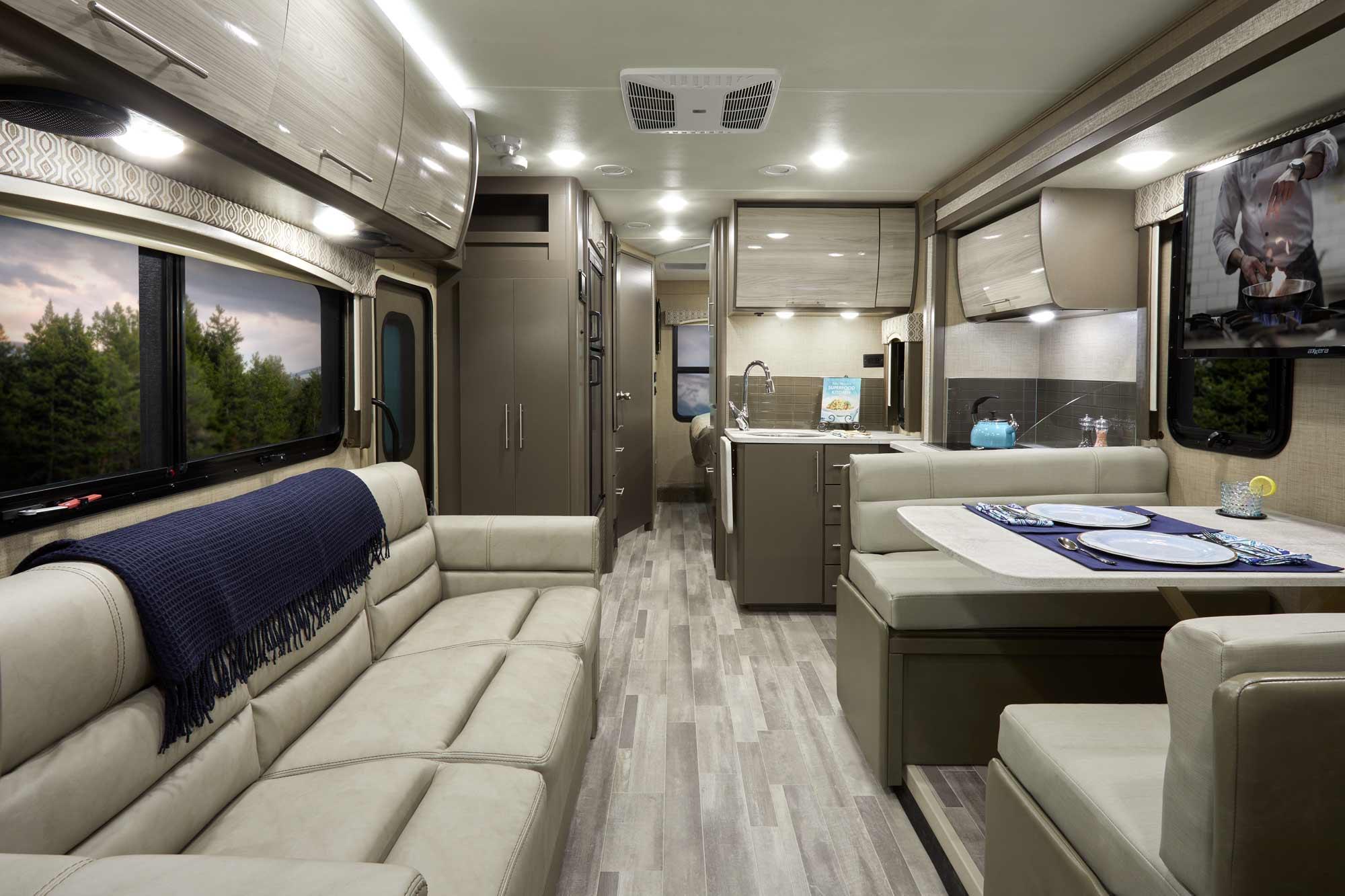 Vegas Ruv Class A Motorhomes Thor Motor Coach 2015 Wiring Diagram 2019 277 Diamondback Ii Silver Oak Front To Back