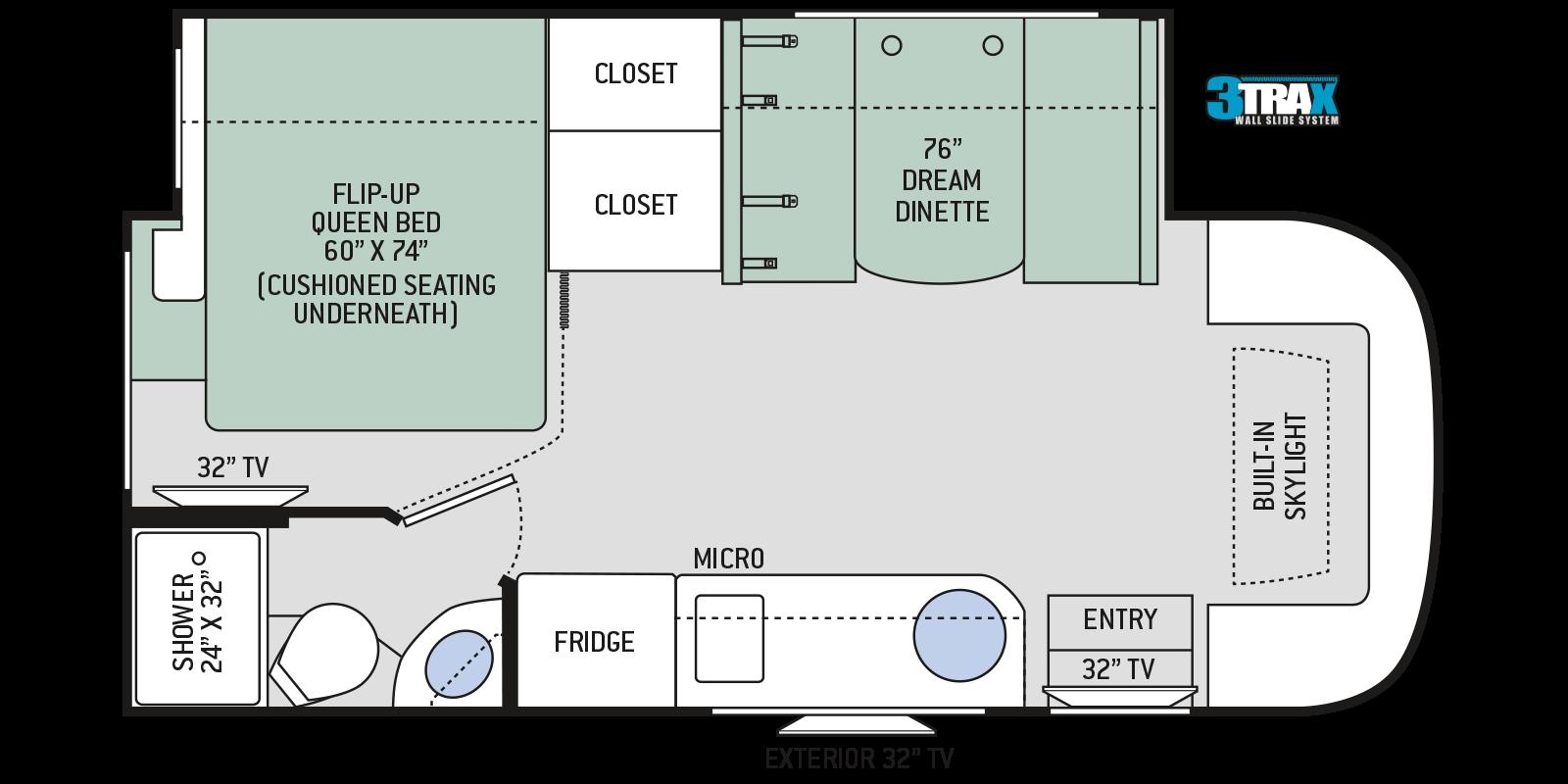 Floor Plans Compass Ruv 24tf