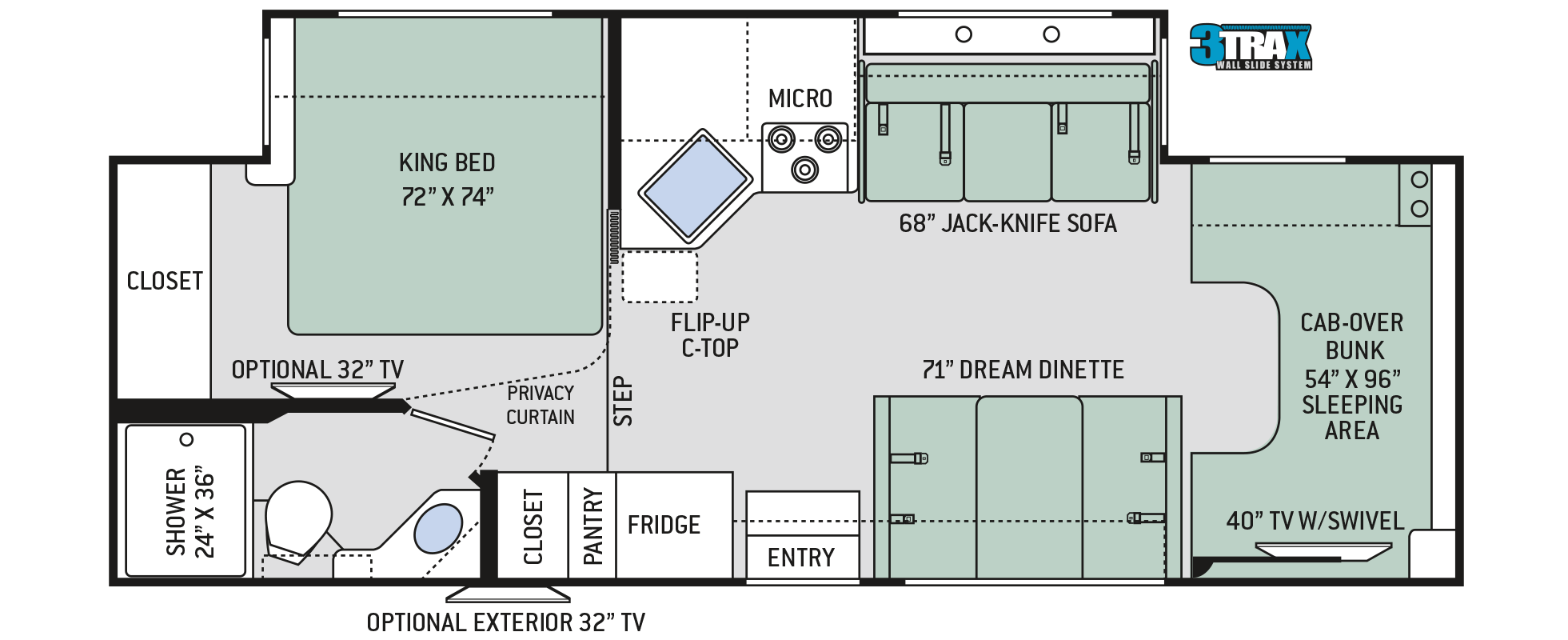 Floor Plans Four Winds 27r