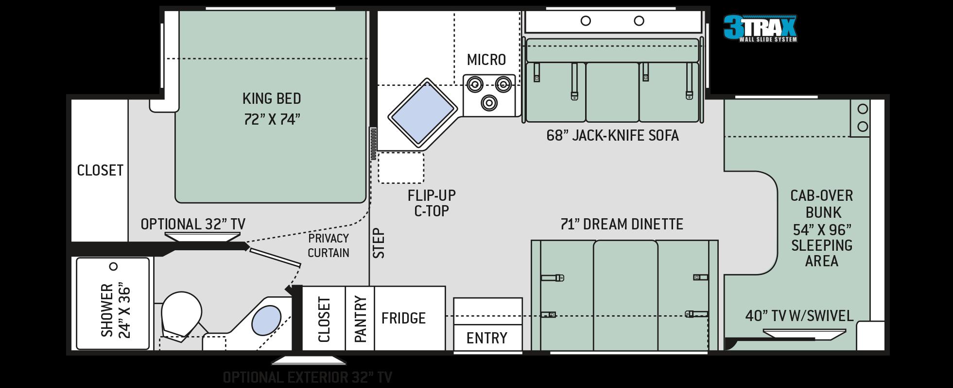 Floor Plans Four Winds 27r