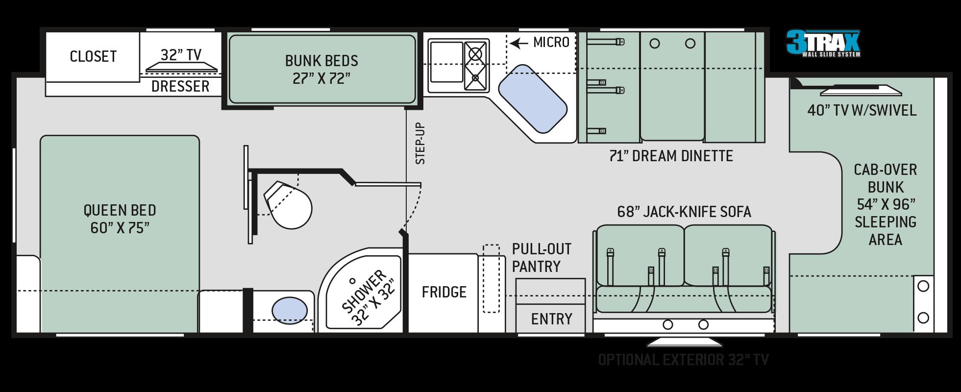 Floor Plans Four Winds: 31E