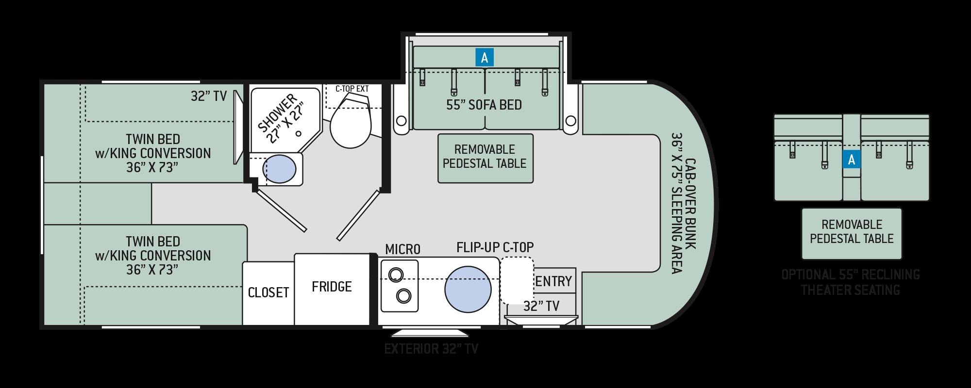 Floor Plans Citation Sprinter 24st