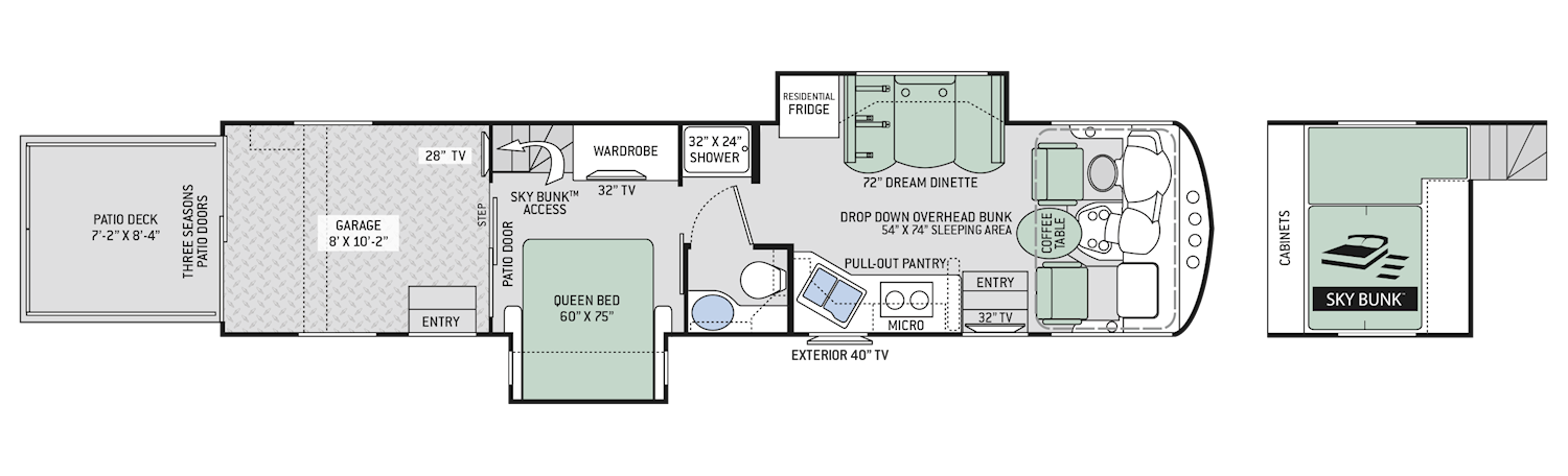 Thor Toy Hauler Floor Plans Wow Blog