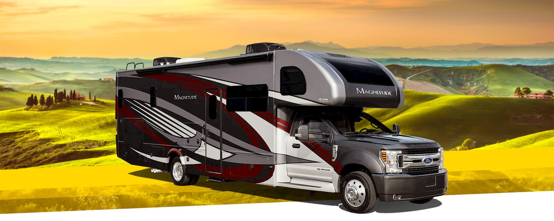 Magnitude Super C Diesel Motorhomes | Thor Motor Coach