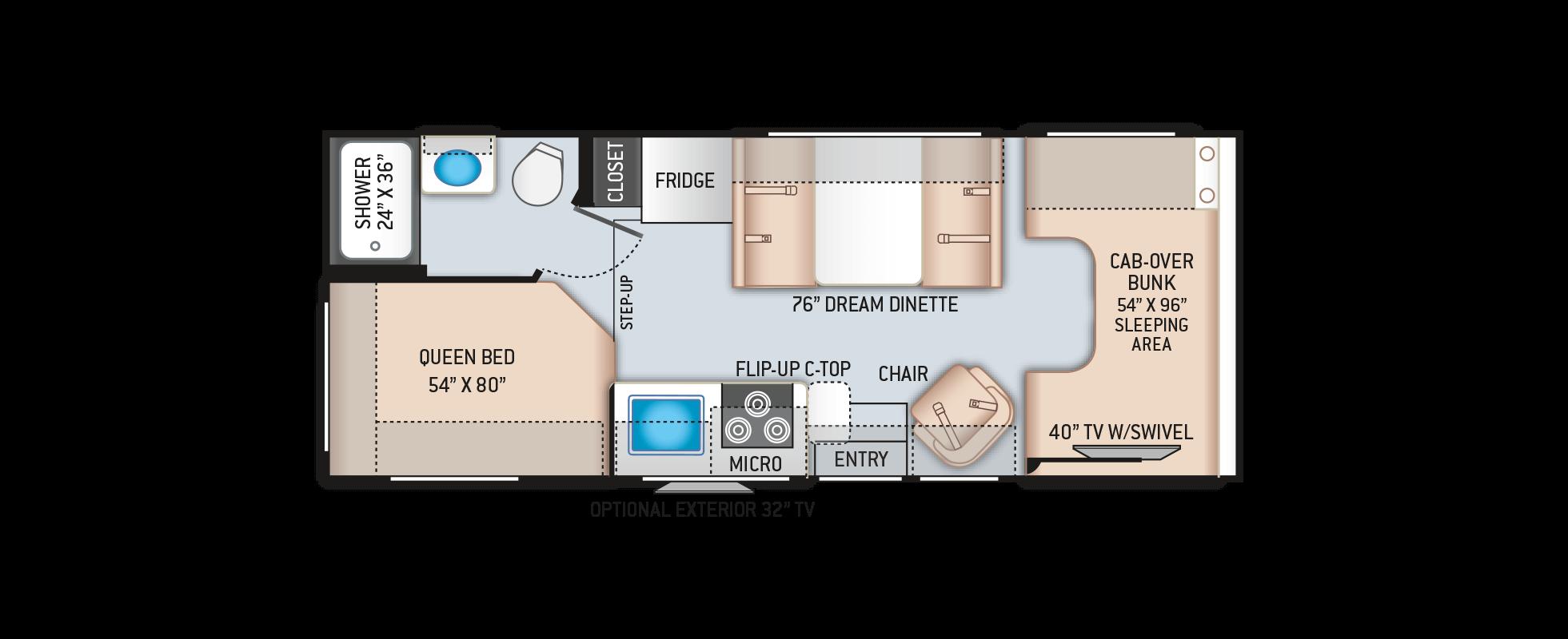 Floor Plans Four Winds: 23U