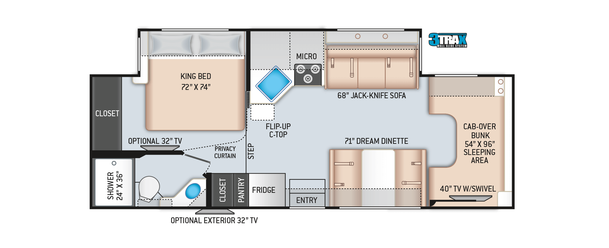 Floor Plans Four Winds: 27R