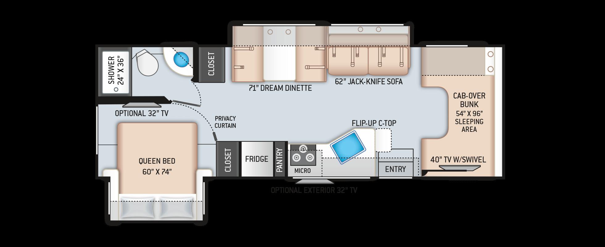 Floor Plans Four Winds: 28E