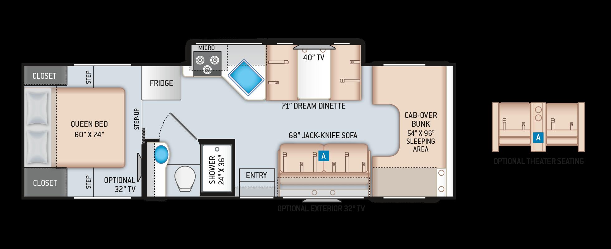 Floor Plans Four Winds: 28Z