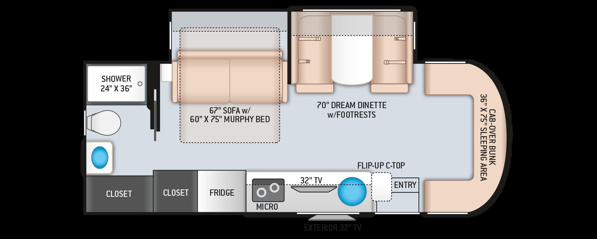 Floor Plans Citation Sprinter 24mb