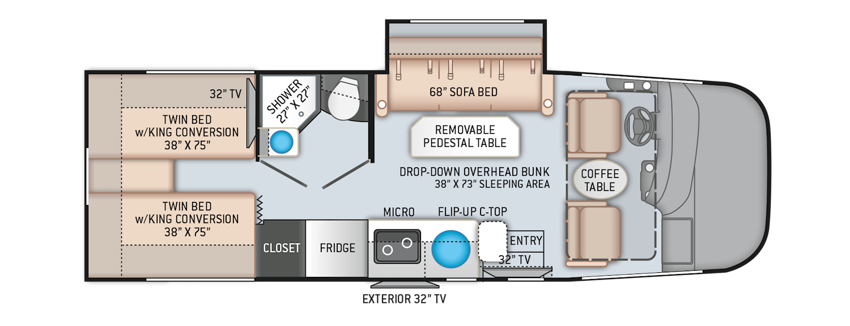 Floor Plans | Thor Motor Coach