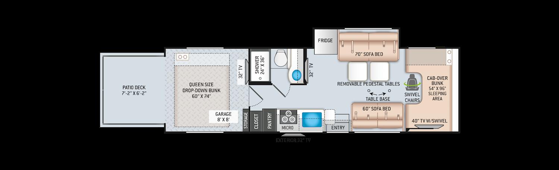 class c rv floor plans