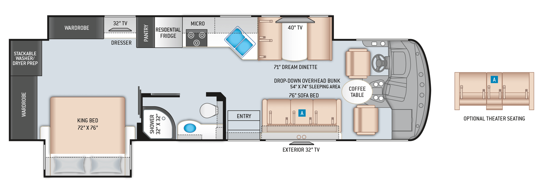 Windsport 33X Floor Plan