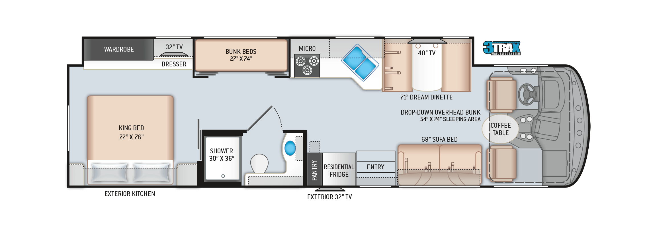 Windsport 34J Floor Plan