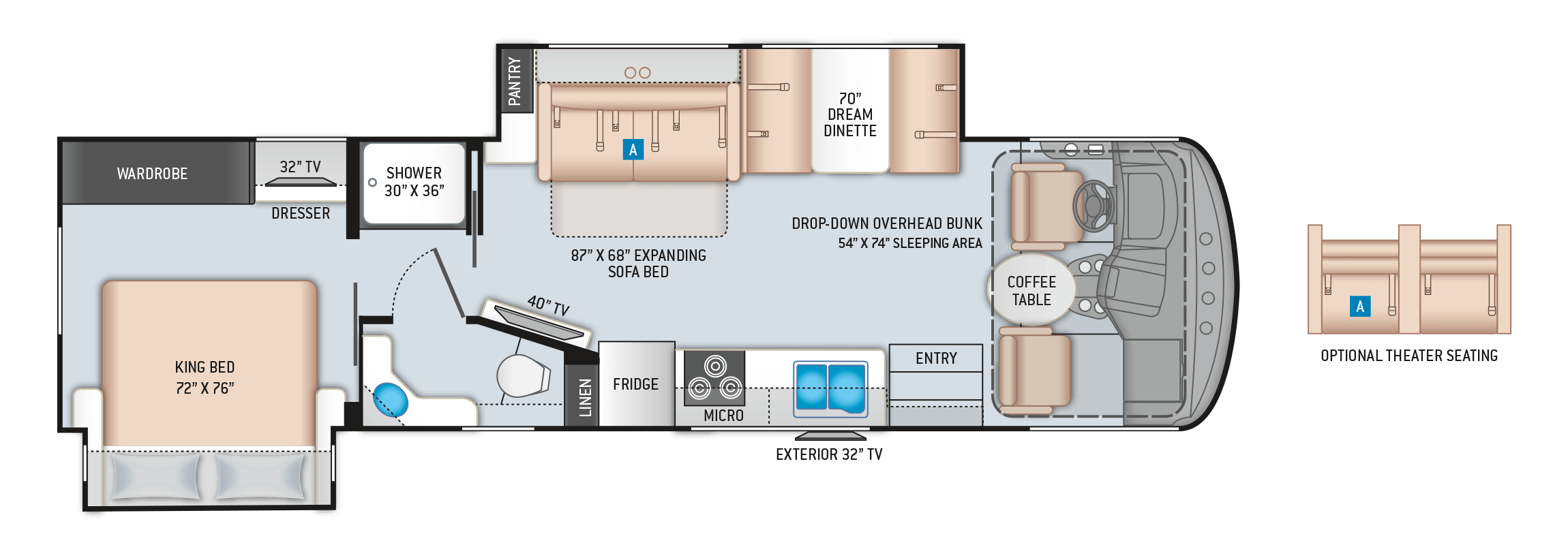 Windsport 32T Floor Plan