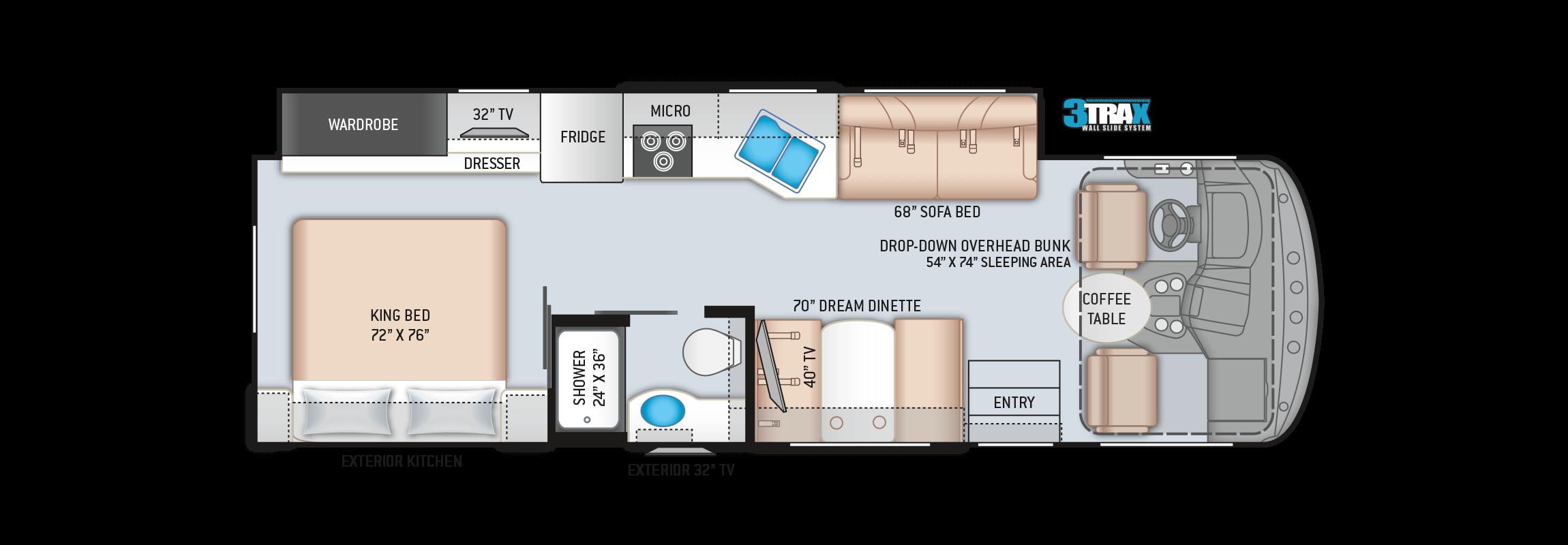 Hurricane 29M Floor Plan