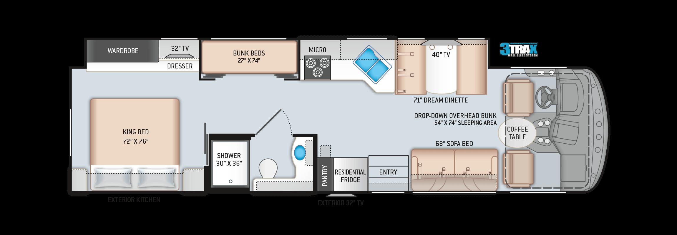Hurricane 34J Floor Plan