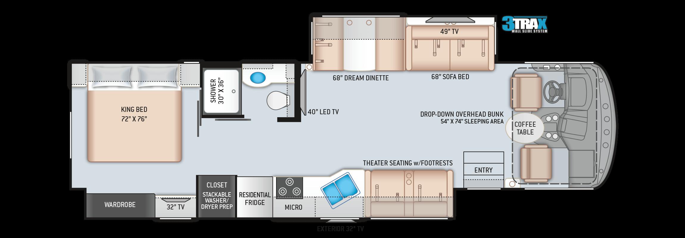 Hurricane 34R Floor Plan
