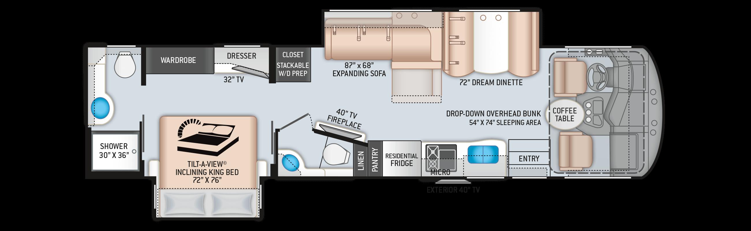 Miramar 35.3 Floor Plan