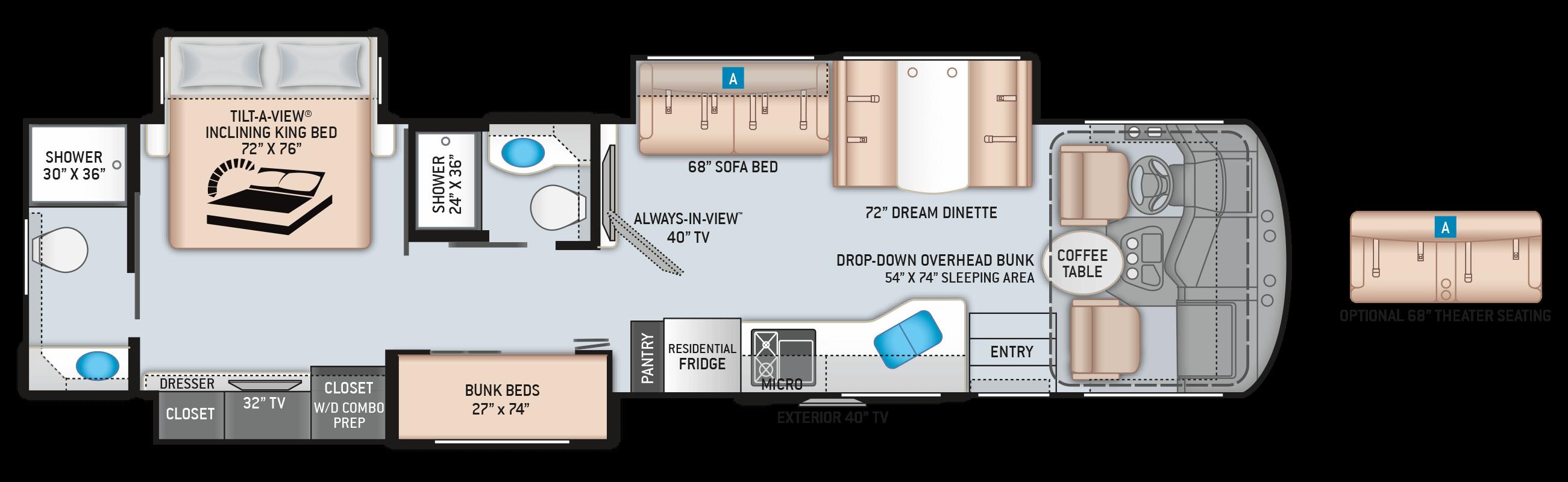 Miramar 37.1 Floor Plan