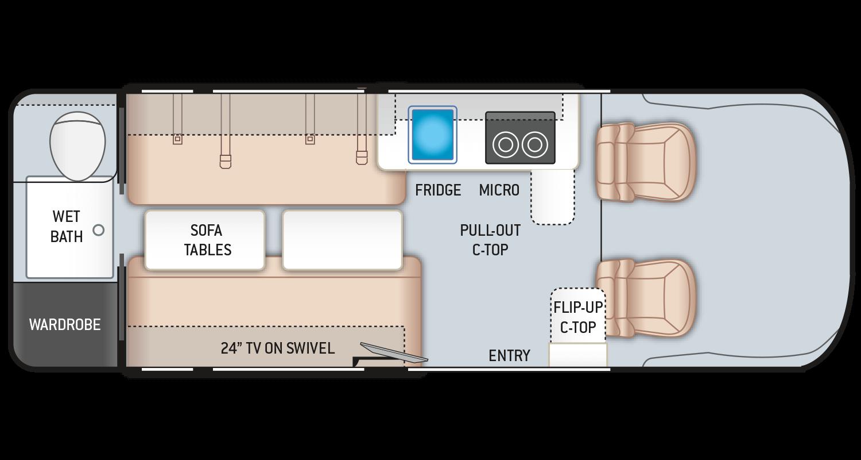 2020 Tellaro 20LT Class B Van