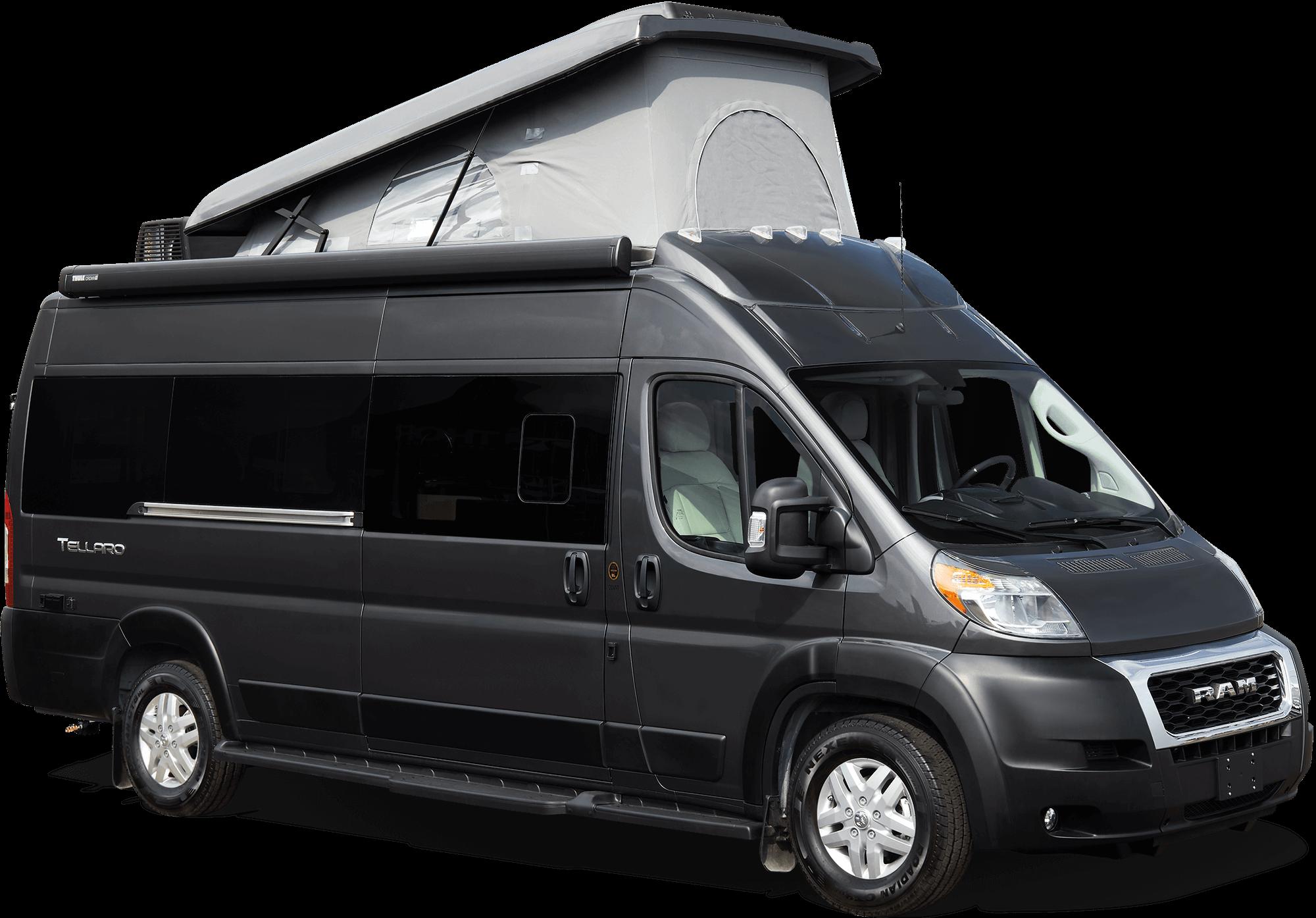 Tellaro Raised Roof Van Pop Top Camper Van