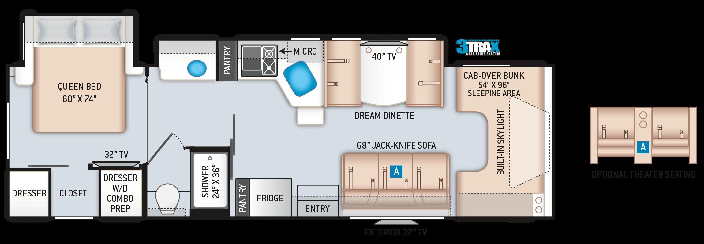 Quantum JM31 Class C Floor Plan
