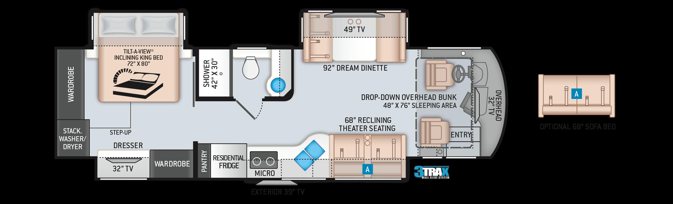 2020 Aria 3401 Floor Plan