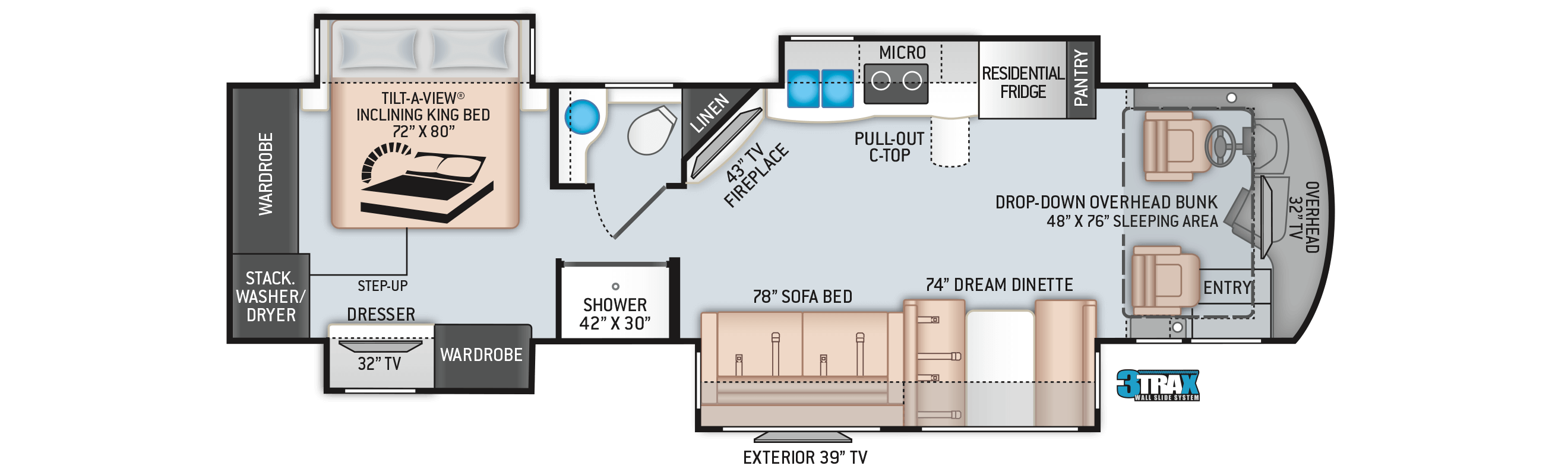 2020 Aria 3601 Floor Plan