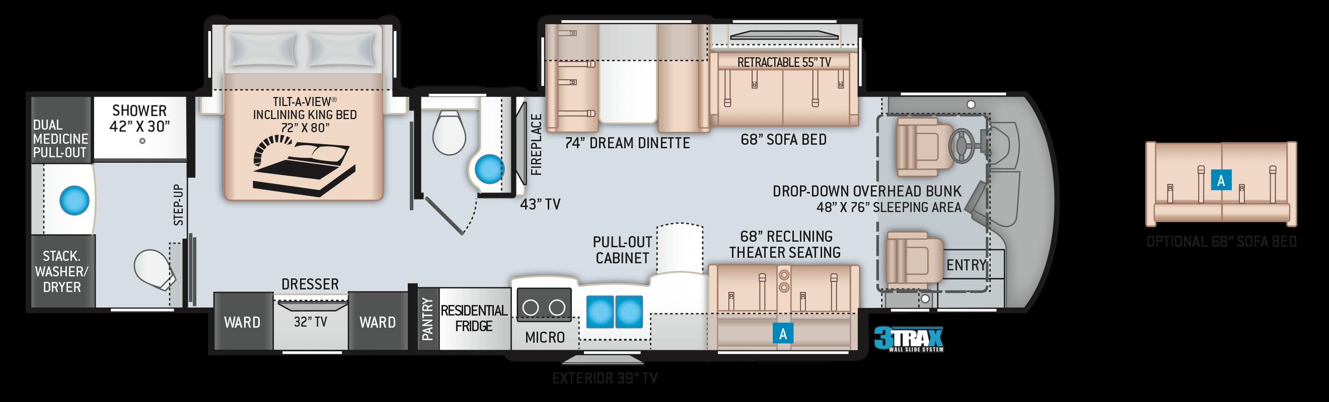 2020 Aria 3901 Floor Plan