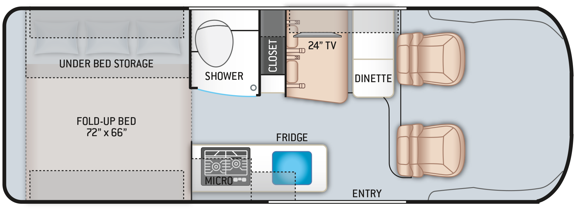2021 Sequence 20A Floor Plan