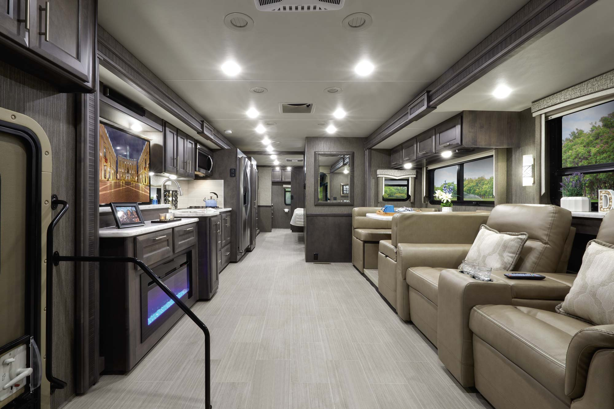 Chateau 31E Class C RV Home Collection Estate Grey