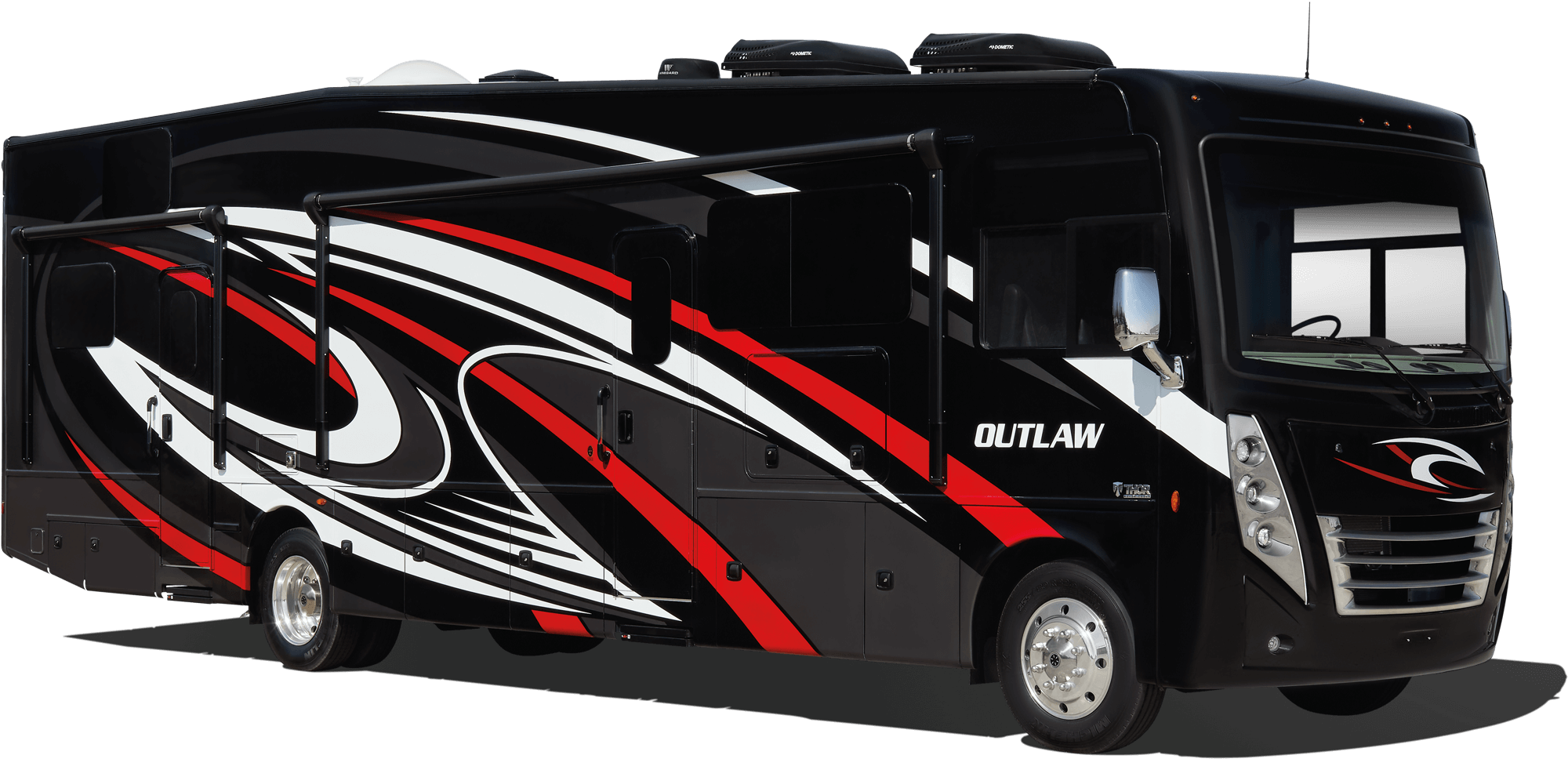 Best Toy Hauler 2021 Outlaw Class A Toy Hauler Motorhomes | Thor Motor Coach