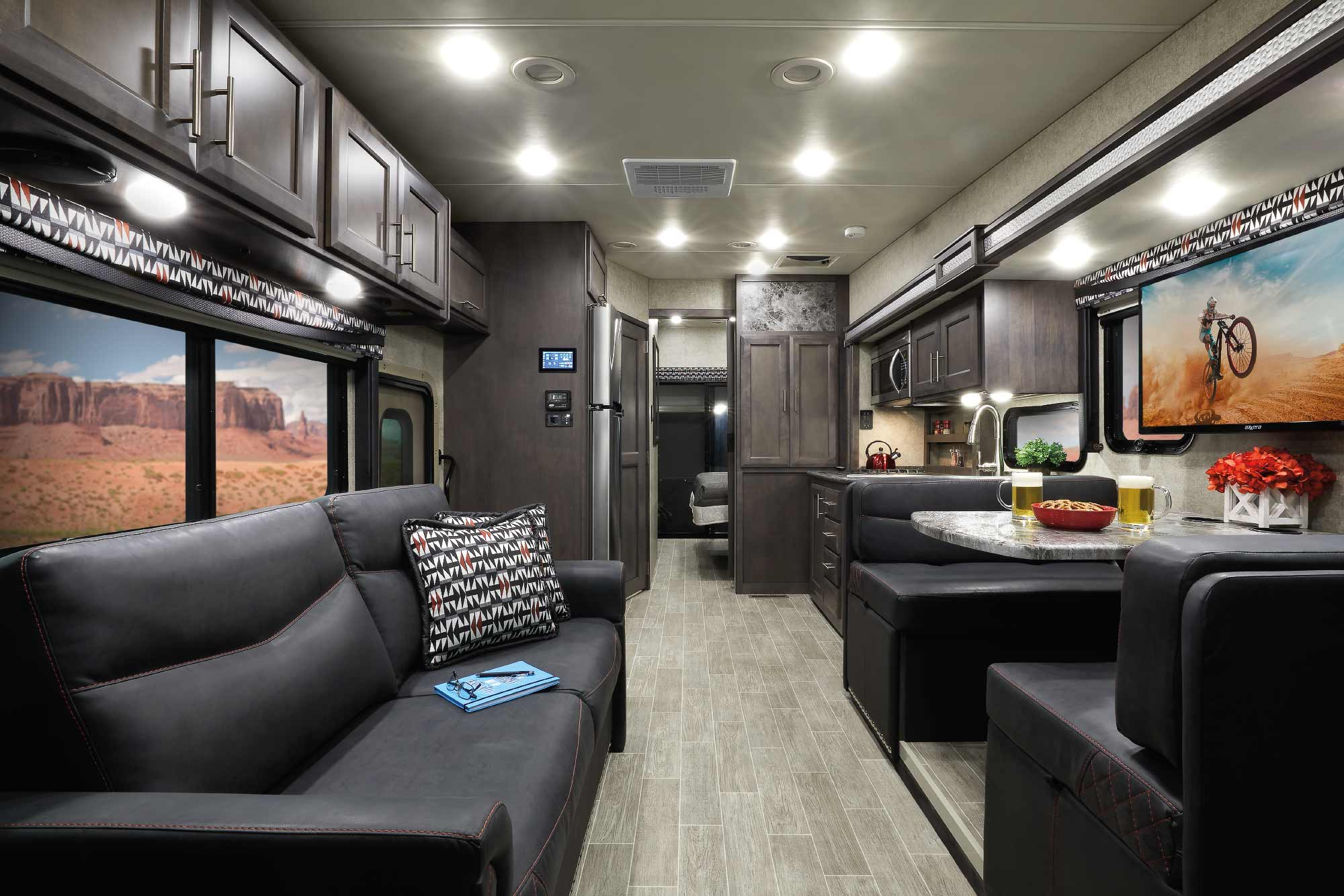 Outlaw Class A RV Toy Hauler