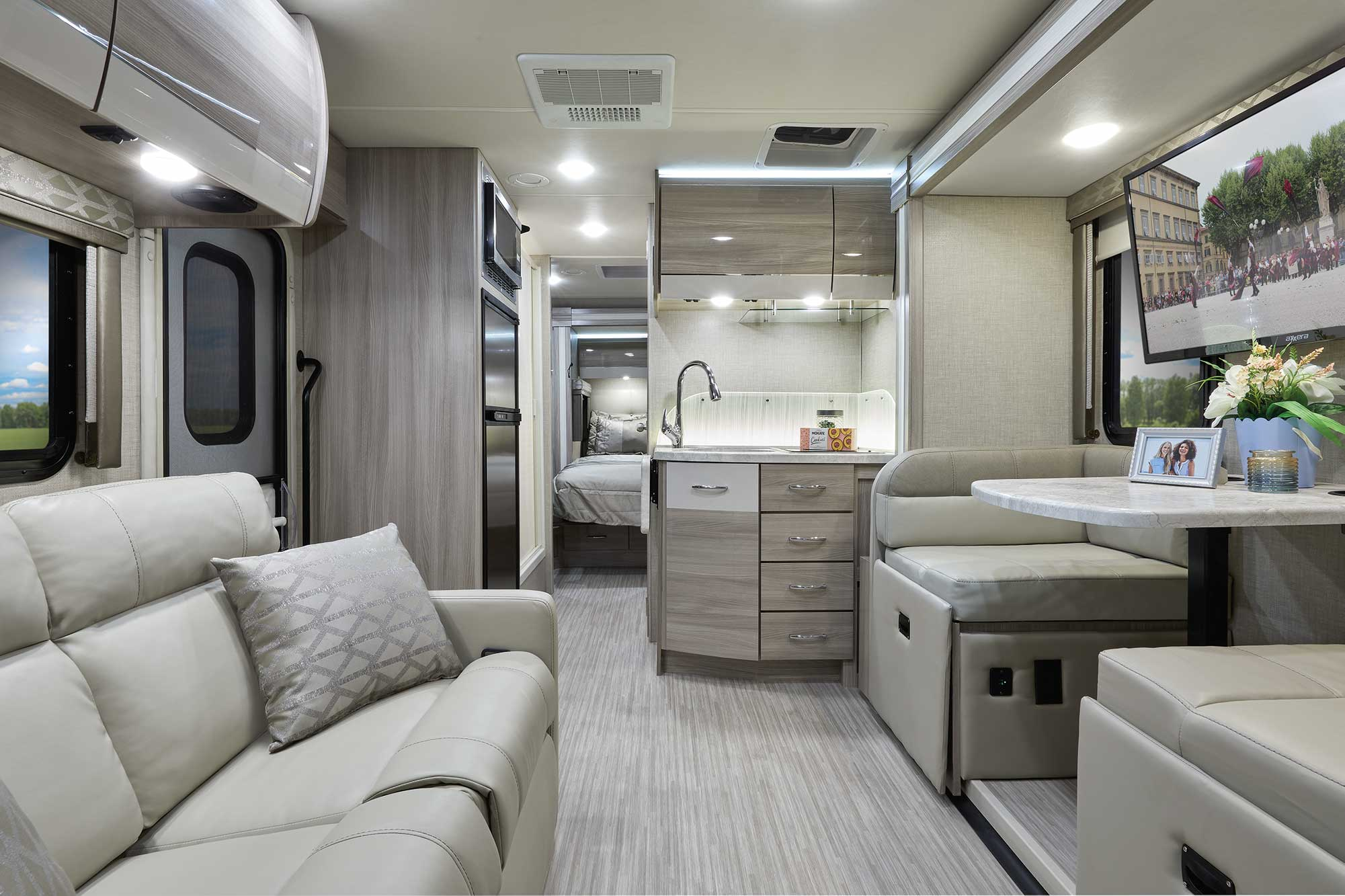 Delano Mercedes Sprinter RV Interior
