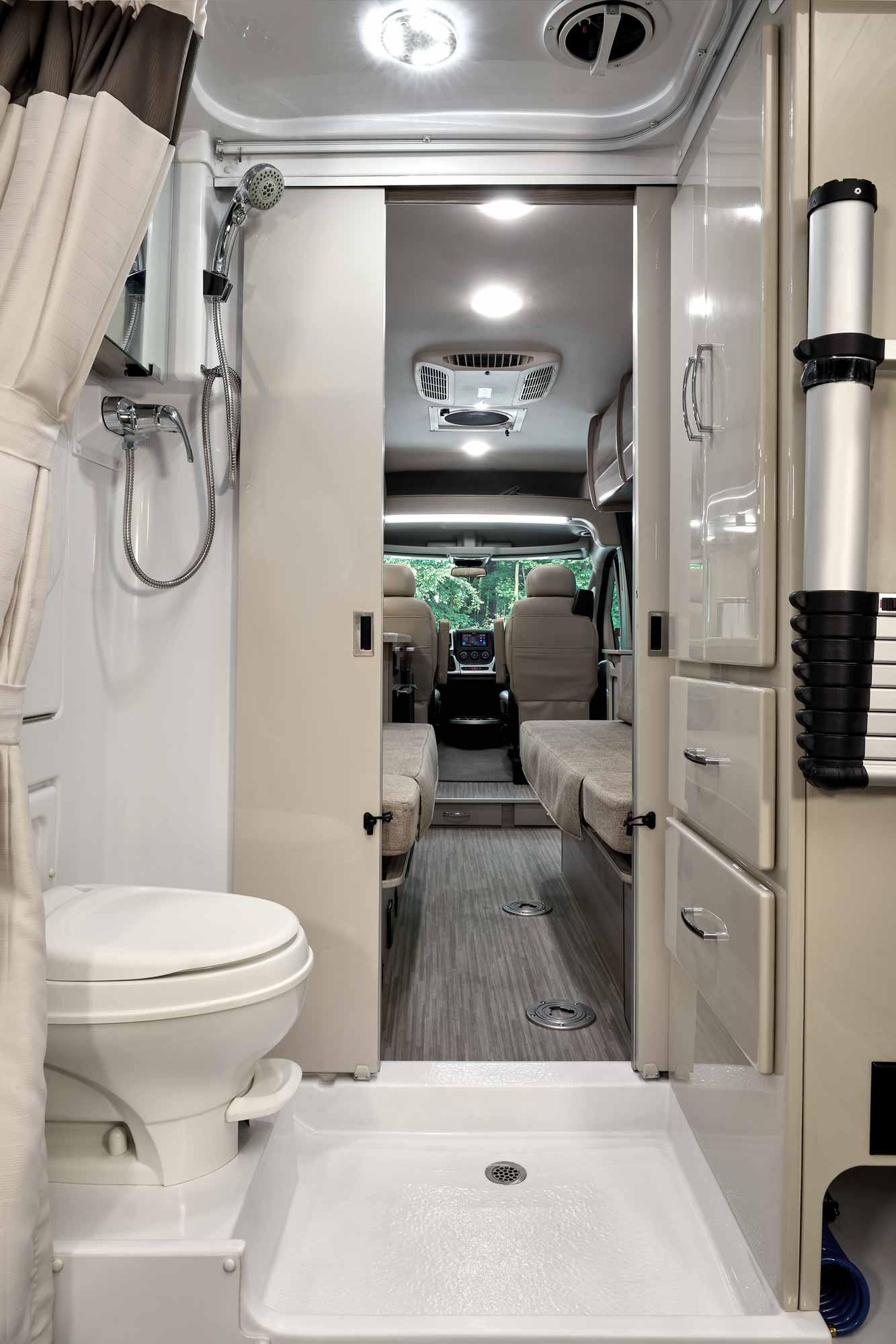 Class B RV Bathroom