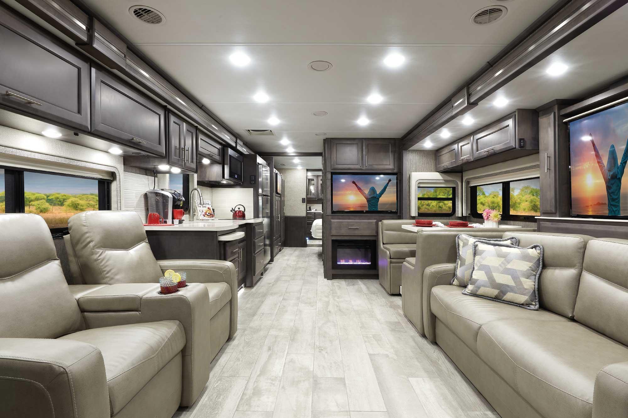 Aria Class A Diesel RV Interior