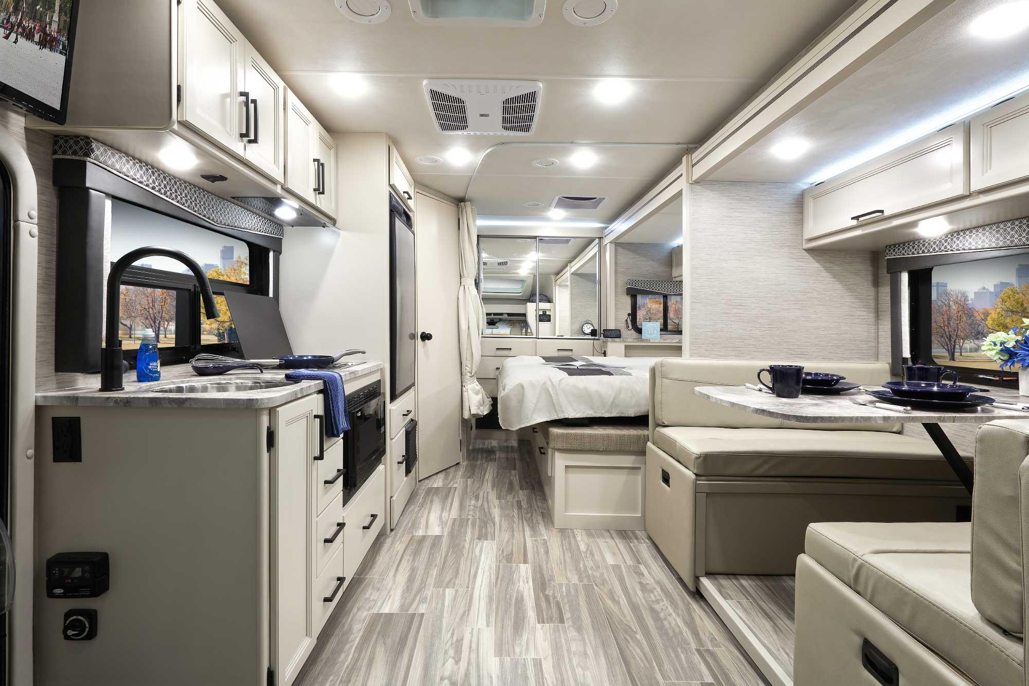 compass awd class b plus rv interior