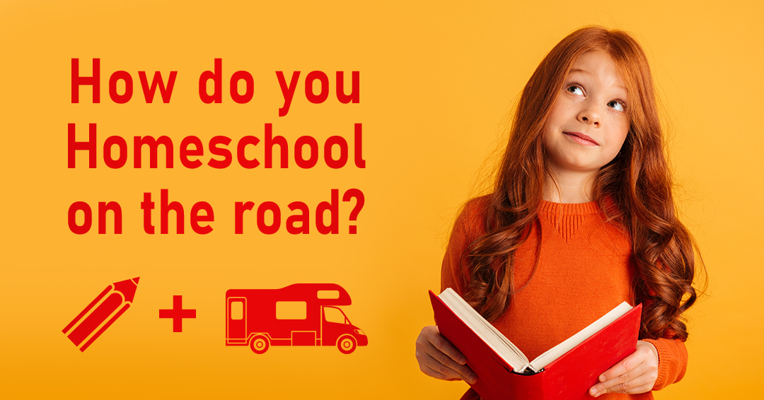 How do you homeschool on the road