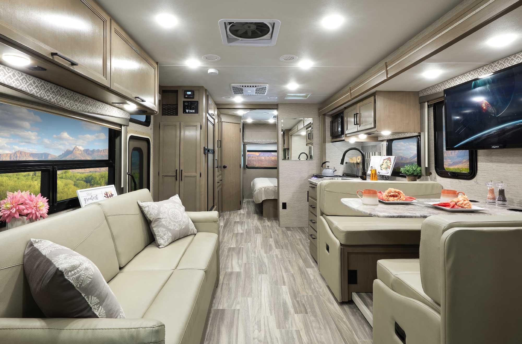 ACE Class A RV Interior