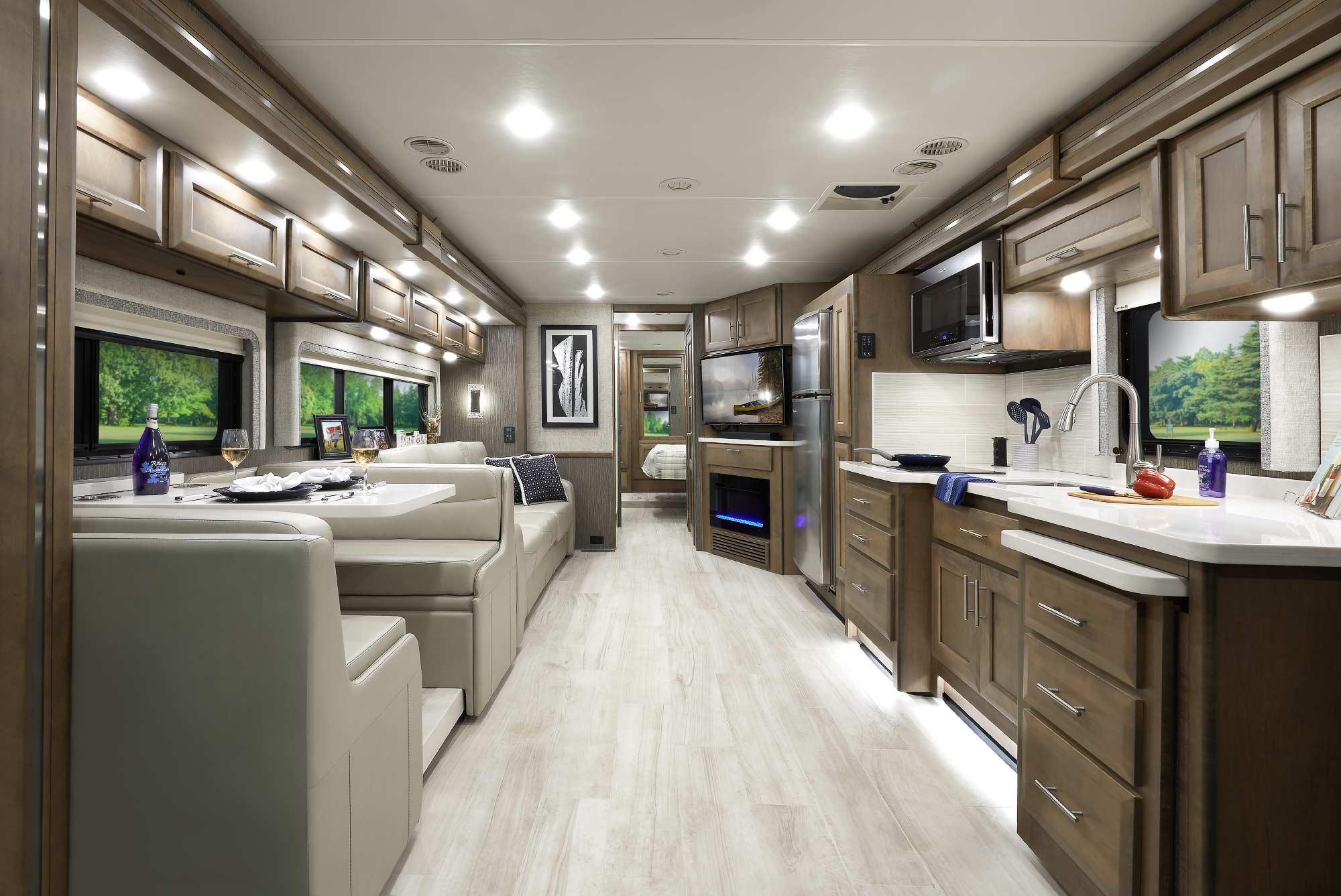 Aria Diesel RV Interior