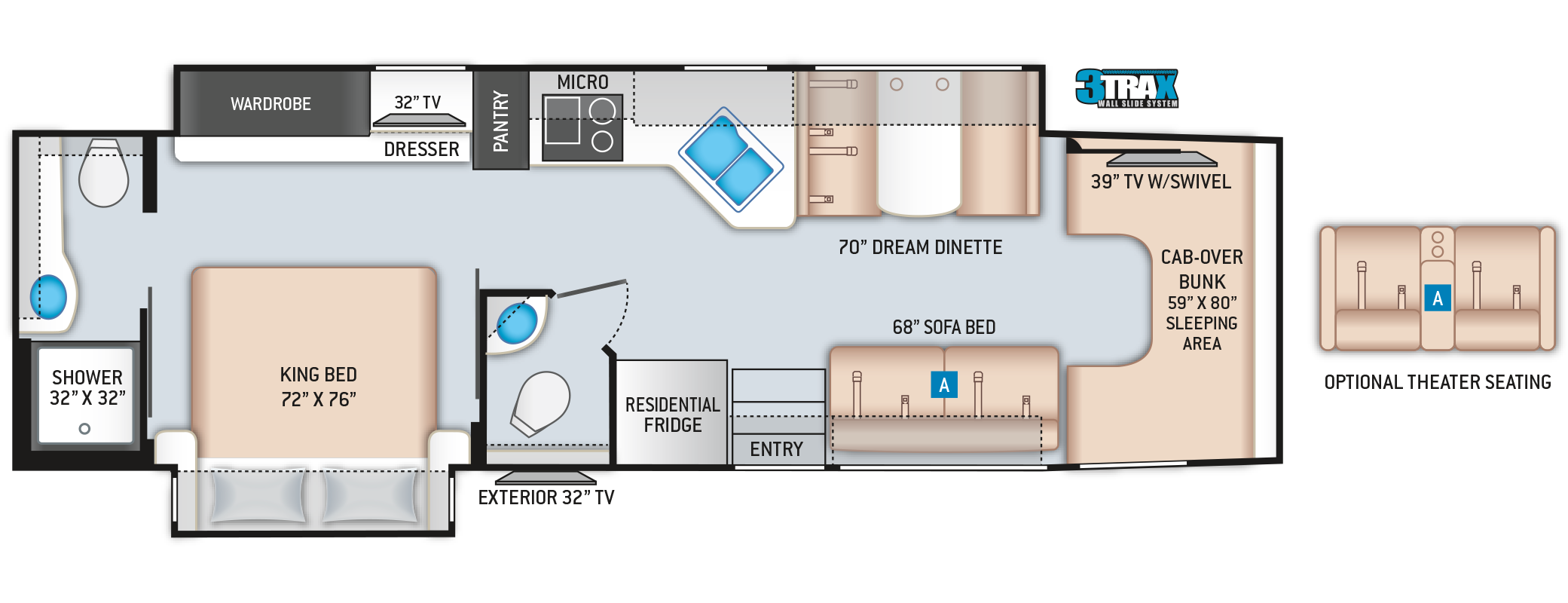Omni Super C RV BH35 Floor Plan