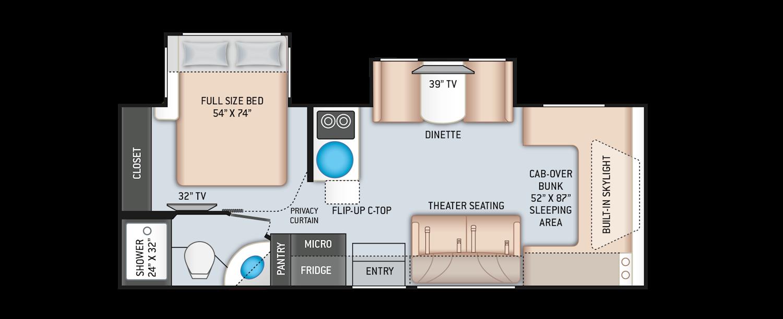 Quantum Sprinter Floor Plans