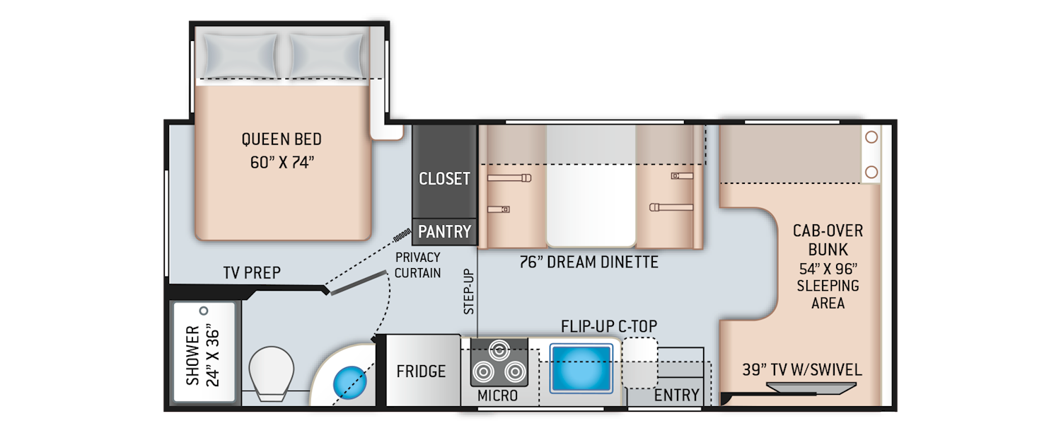 Freedom Elite Floor Plans